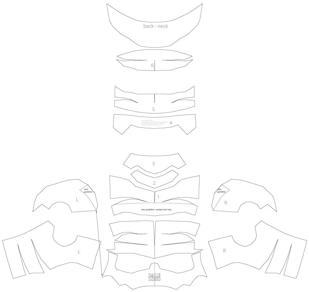 Stormtrooper armor template pdf