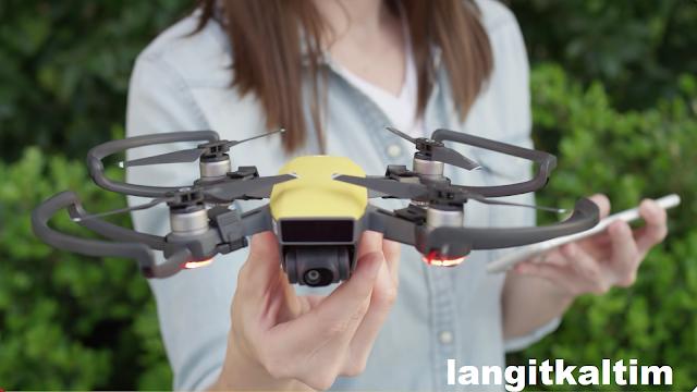 10 Fitur Canggih Yang di Miliki Drone Mini Dji Spark