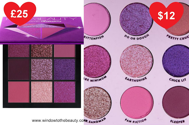 Huda Amethyst cheapest dupe