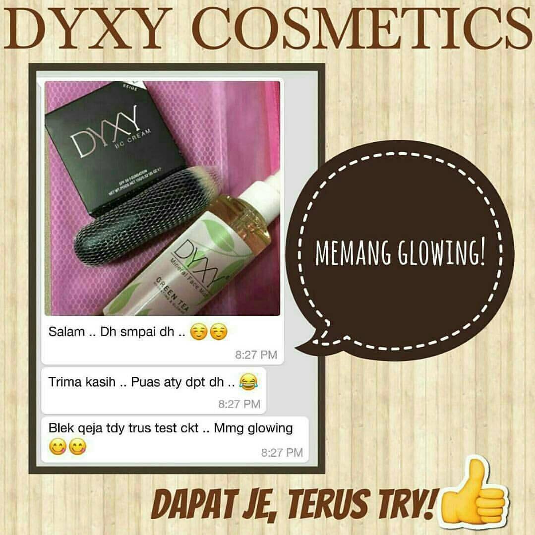 Dyxy Cosmetics - Produk Laku Keras Di Malaysia: TESTIMONI