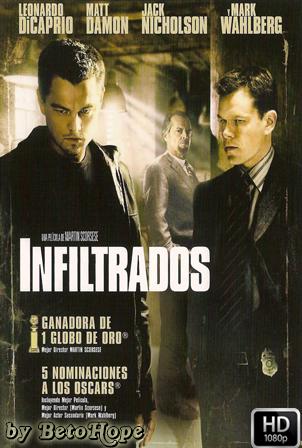 Los Infiltrados [2006] [Latino-Ingles] HD 1080P  [Google Drive] GloboTV