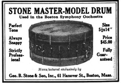 Geo. B. Stone Advertisement, December 1922