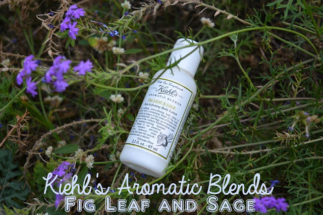Kiehl's Aromatic Blends Fig Leaf and Sage Skin Softening Body Lotion (Silicone Free)