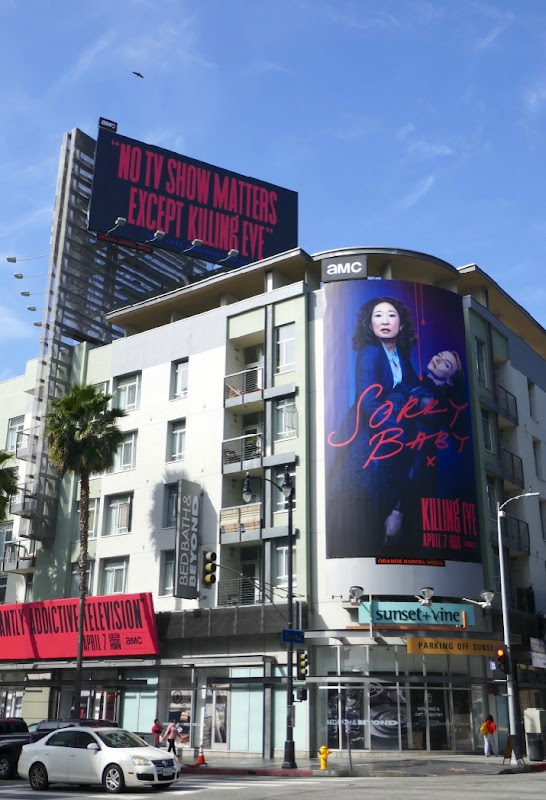 Killing Eve season 2 billboards