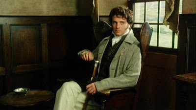 colin firth looking pensive as mr darcy
