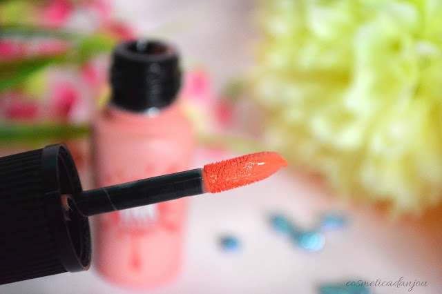 Peripera Peri's Ink Velvet #12 Pure Peach swatches