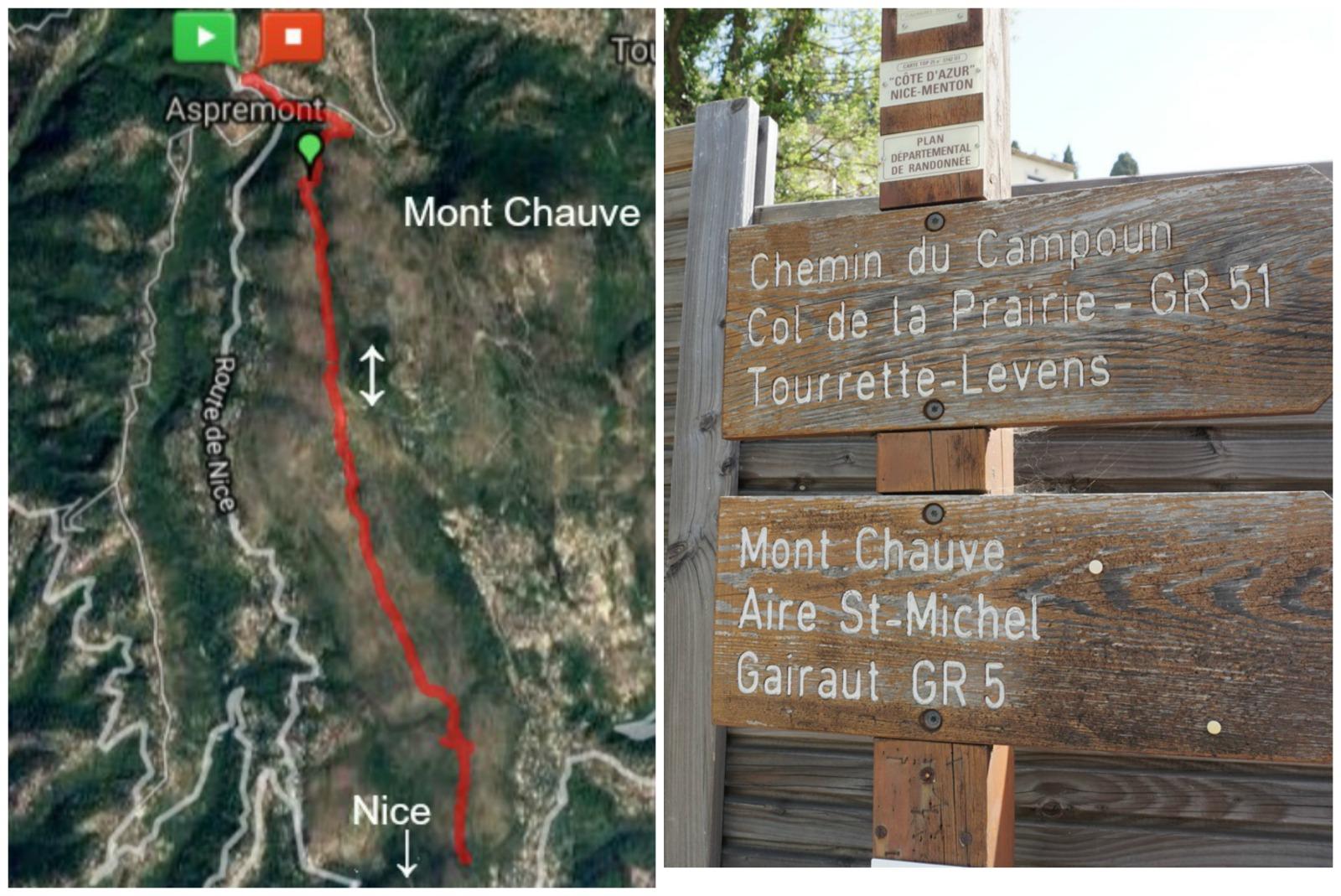 Crete de Graus GR5 trail image