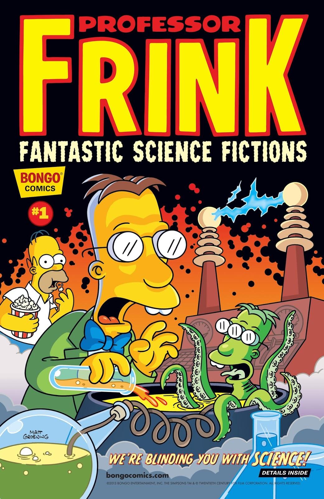 Bongo Comics Simpsons Related 1993 2015 Ongoing