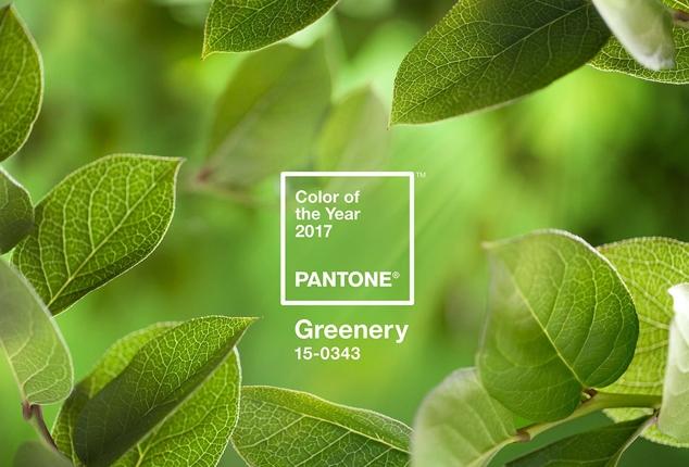 Greenery - главный цвет 2017 года по версии Pantone