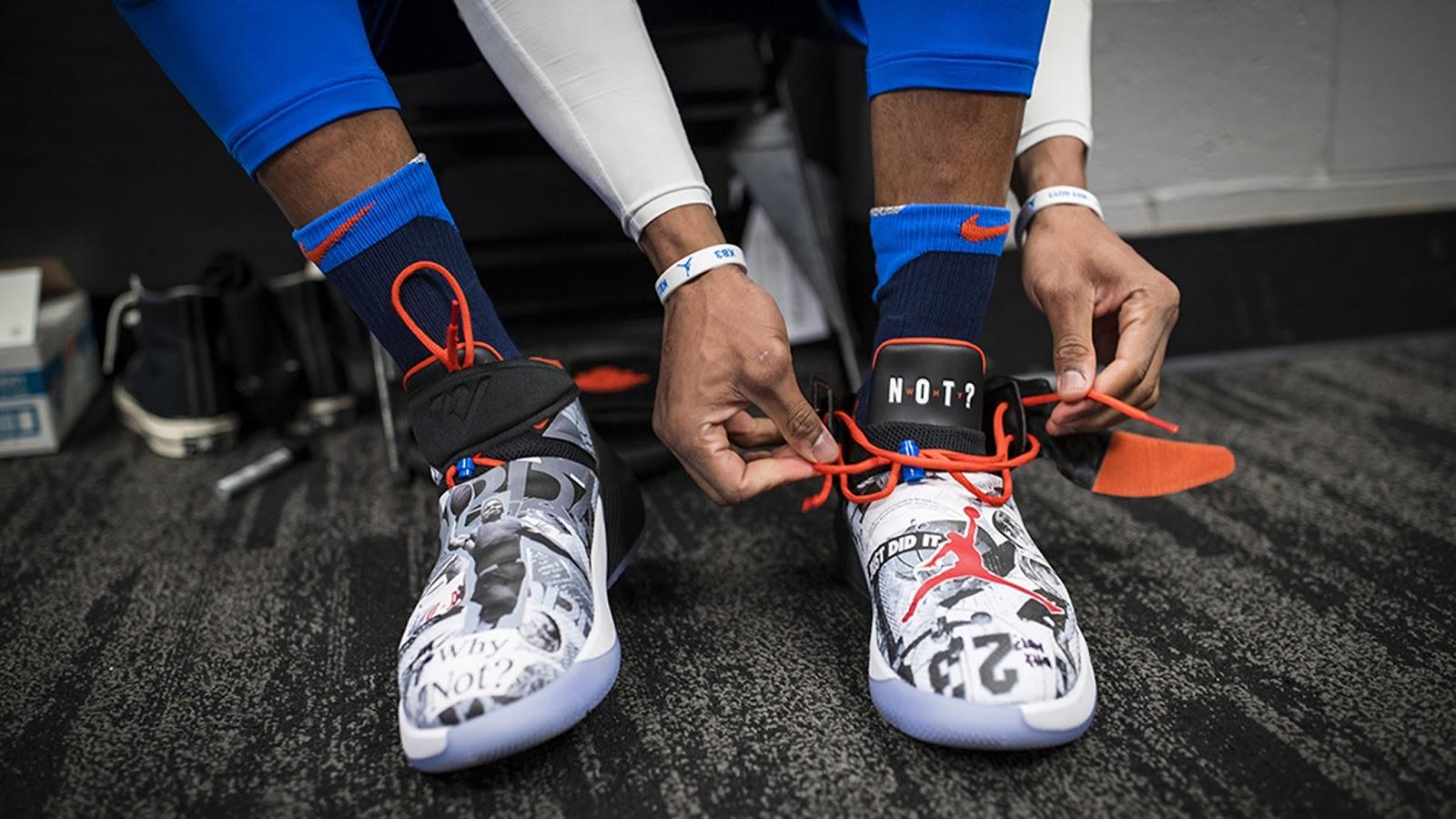Sepatu Pertama Russell Westbrook Bersama Nike