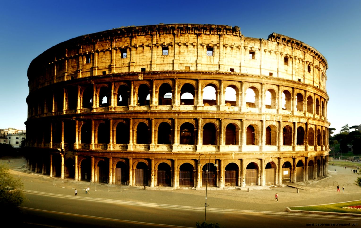 Colosseum Rome Hd Wallpaper
