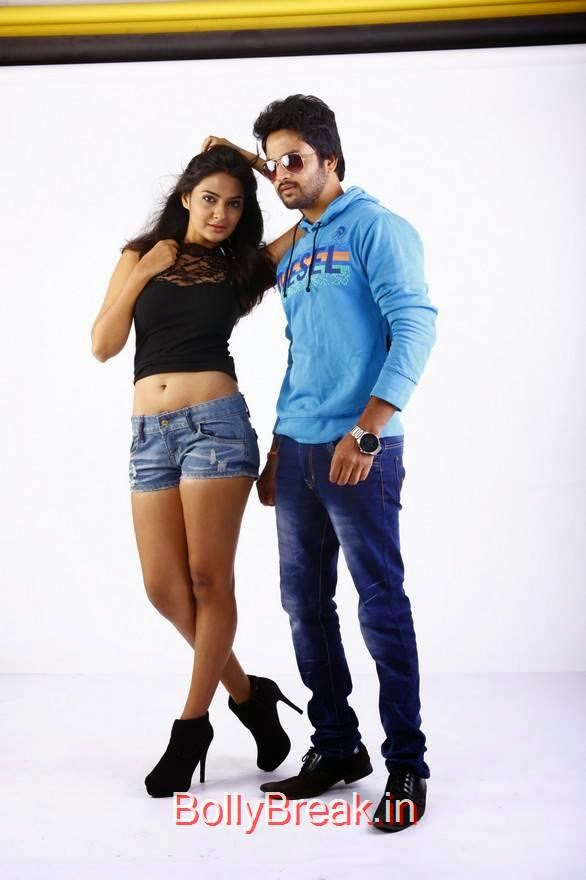 Rahul-The Bells Film Stills, Actress Neha Deshpande Hot Pics in Denim Shorts from The Bells Movie