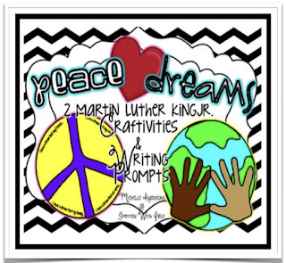 https://www.teacherspayteachers.com/Product/Peace-Love-Dreams-Martin-Luther-King-Craftivities-and-Writing-499876