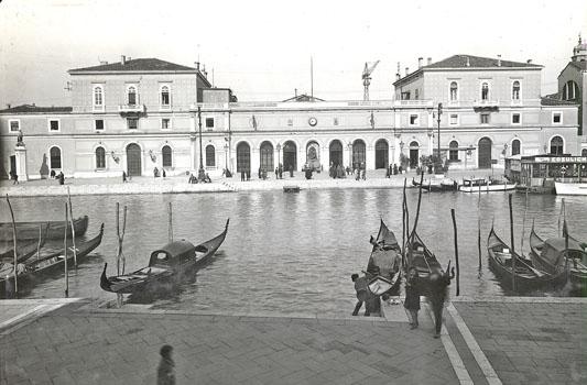 19th century Railway Station, Stazione Ferroviaria, Venice