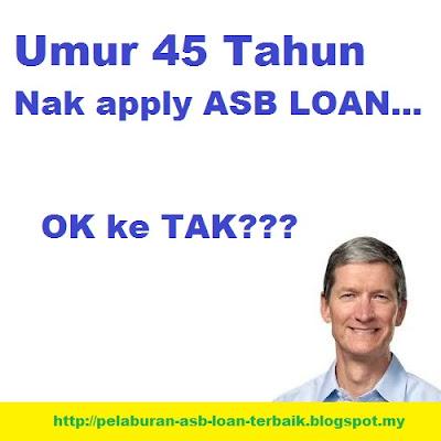 ASB Loan Untuk Pemohon Berumur dan Tak Dapat Tempoh 30 Tahun