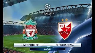 مشاهدة مباراة ليفربول والنجم الأحمر بث مباشر اليوم 06-11-2018 Liverpool vs Crvena Zvezda Live