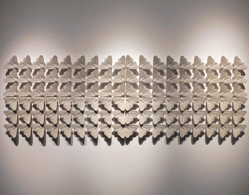 Tinuku Albert Yonathan Setyawan present terracotta pottery works Cosmic Labyrinth the Bells in SongEun ArtSpace