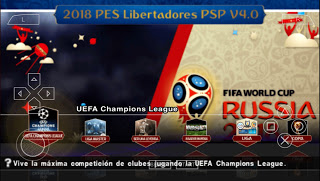 Download PES 2018 Mod World Cup + New Camera v4.0 Offline PSP Android
