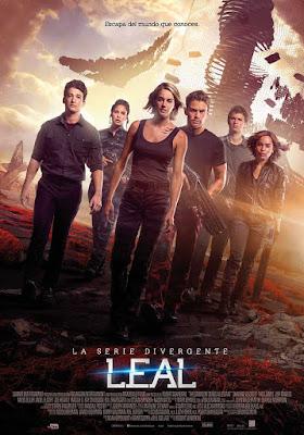 Póster de 'La Serie Divergente: Leal'
