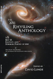 The 2011 Rhysling Anthology, copertina