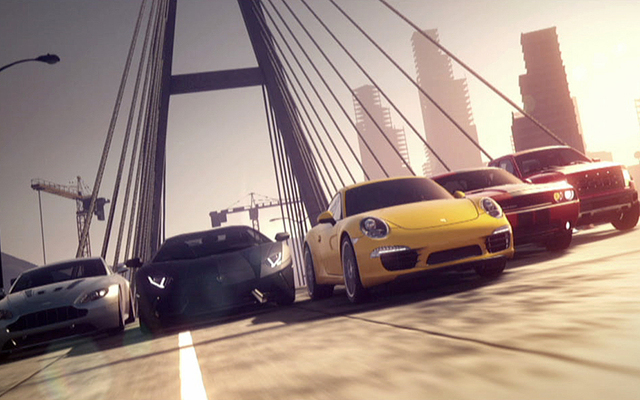 Some of the cars in Need For Speed (Vignesh)
