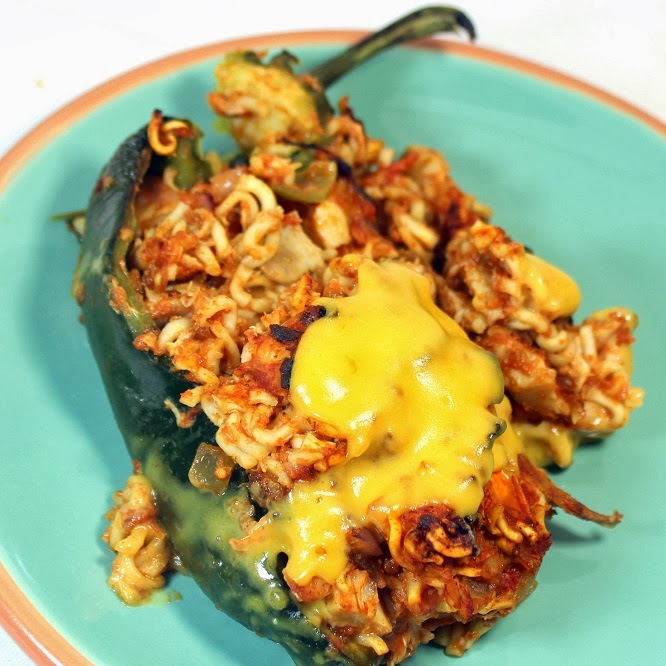 52 ways to cook ramen noodles texmex stuffed peppers