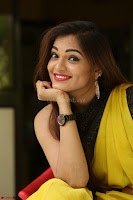 Cute Actress Ashwini in Yellow Saree Exclusive  004.JPG