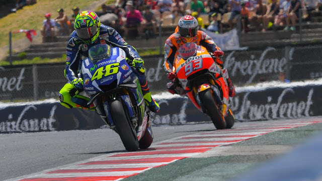 Rossi : Musim Lalu Saya Tidak Selevel dengan Marquez, Tapi Sekarang Sama