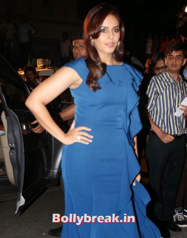 Huma Qureshi, Filmfare Awards 2014 Red carpet Images