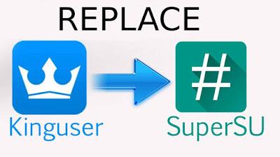 Cara Replace/Mengganti KingUser dengan Binary SuperSU, root menggunakan kingroot dan supersu