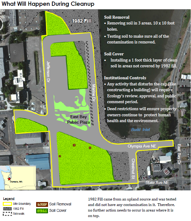 Washington Department of Ecology: East Bay redevelopment cleanup