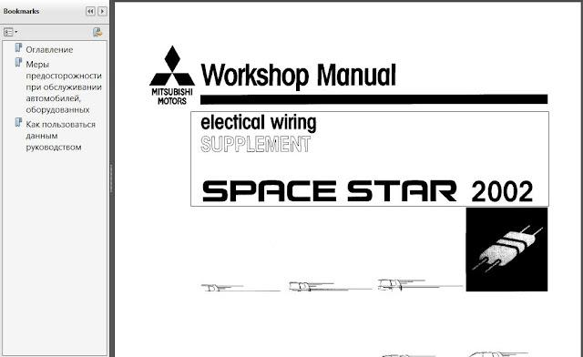 Mitsubishi Ebook Soft   Service Manual  Mitsubishi Space