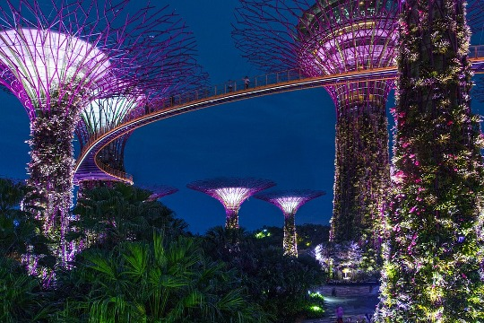 Gardens by the Bay, Singapura