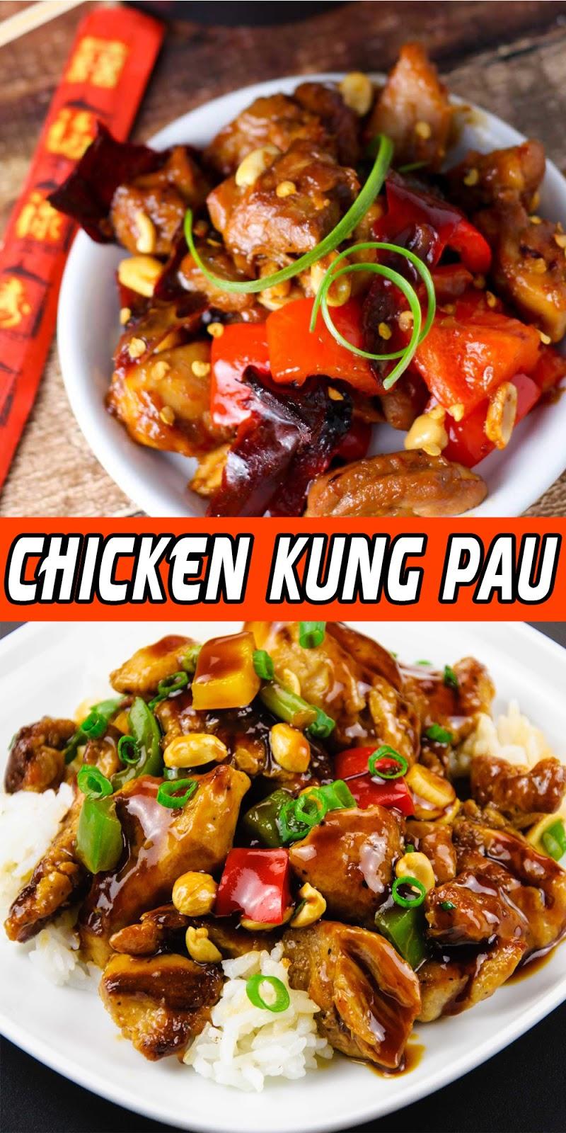 CHICKEN KUNG PAU