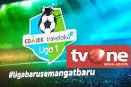 Tv One Ganti Acakan Excrypt untuk tayangan Liga 1 dan Liga 2 Gojek Traveloka