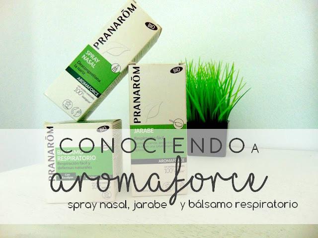 CONOCIENDO A AROMAFORCE DE PRANARÔM