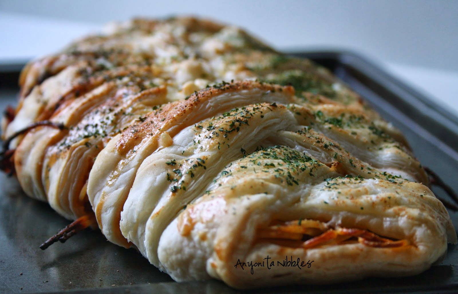Braided Spaghetti Loaf | Anyonita Nibbles