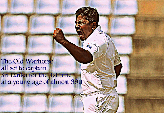 Rangana Herath to Captain Sri Lanka for the first Time against Zimbabwe in Tests