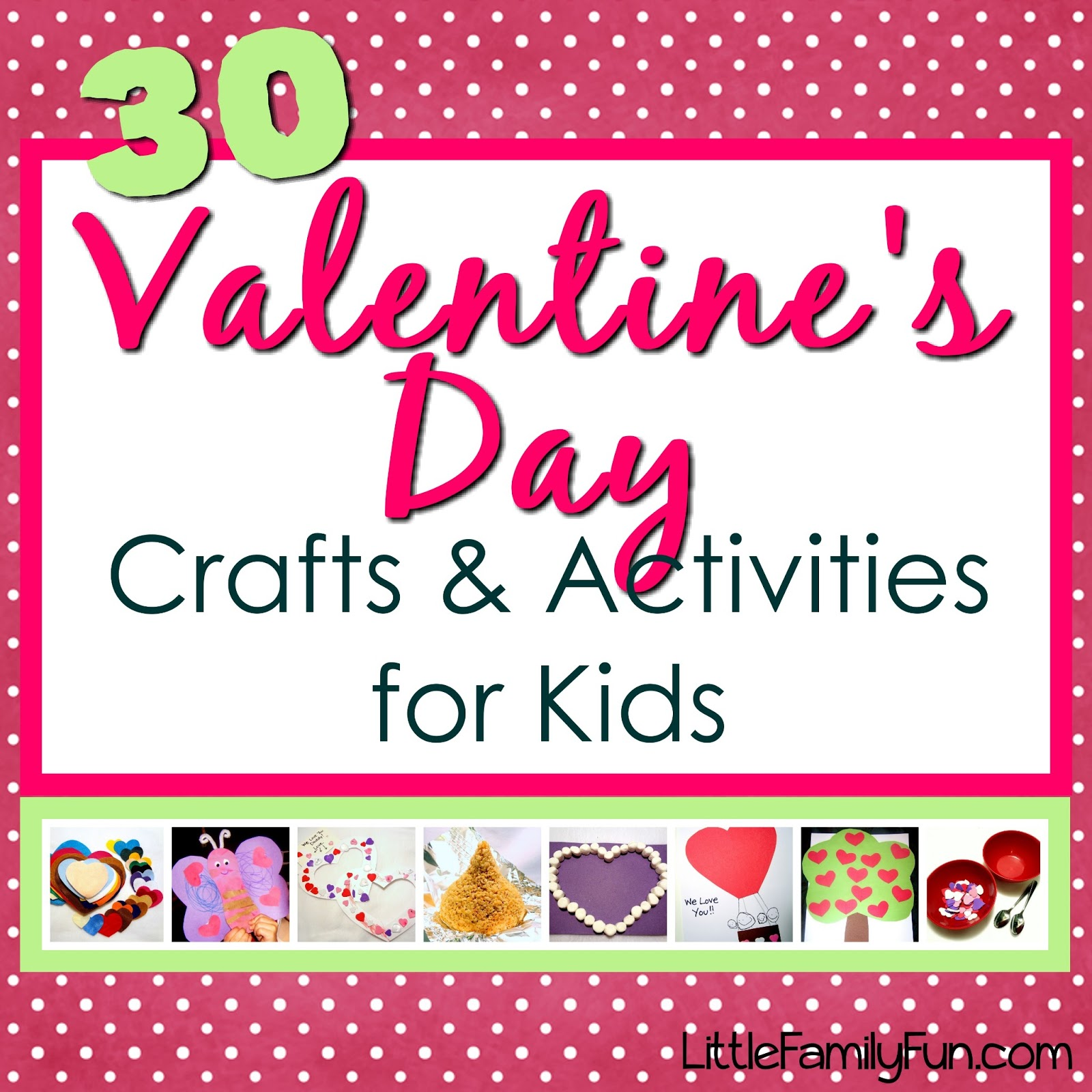 Little Family Fun Valentine S Day Crafts Amp Activities For