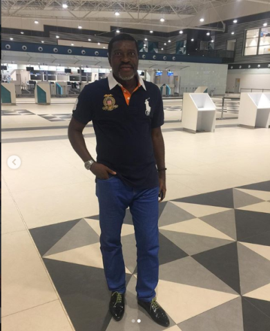 Kotoka Terminal 3 receives praises from Nollywood actor Kanayo O Kanayo