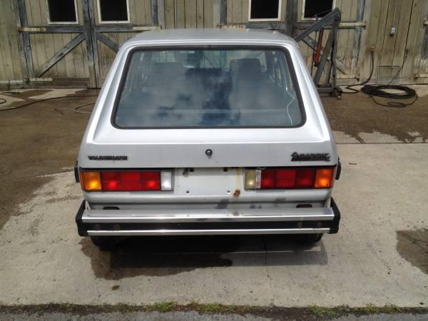 1984 Vw Rabbit 4 Door Diesel Hatchback Buy Classic Volks