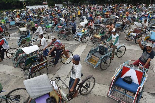 Kenapa Becak Harus Beroperasi Kembali di Jakarta