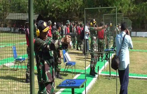 TNI Sekesi Jago Tembak Untuk Ikuti Kejuaraan Tembak Militer Internasional bisam 2016