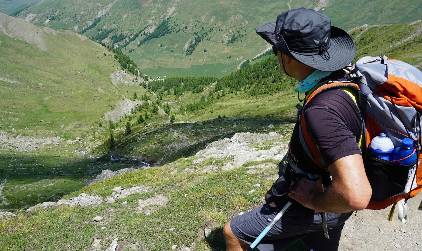 Start of descent to Cerveyrettes Valley