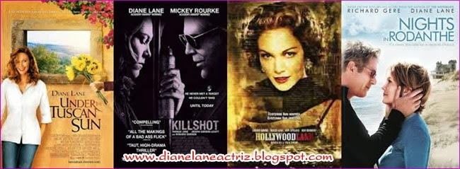 FILMOGRAFÍA DE DIANE LANE 1/ FILMOGRAPHY OF DIANE LANE 1