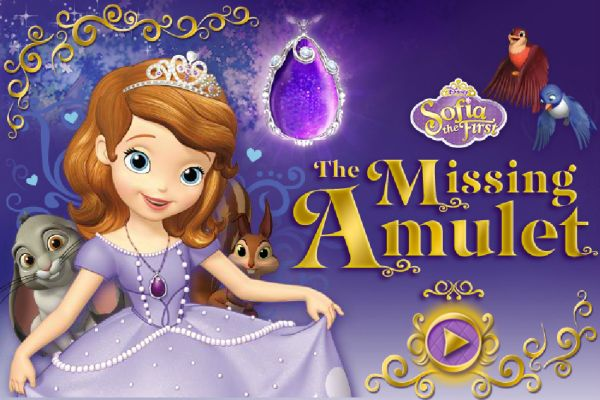 Play Sofia de First The Missing Amulet game