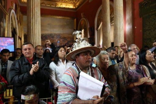 Evo Morales saluda sesiones de la Constituyente en Venezuela