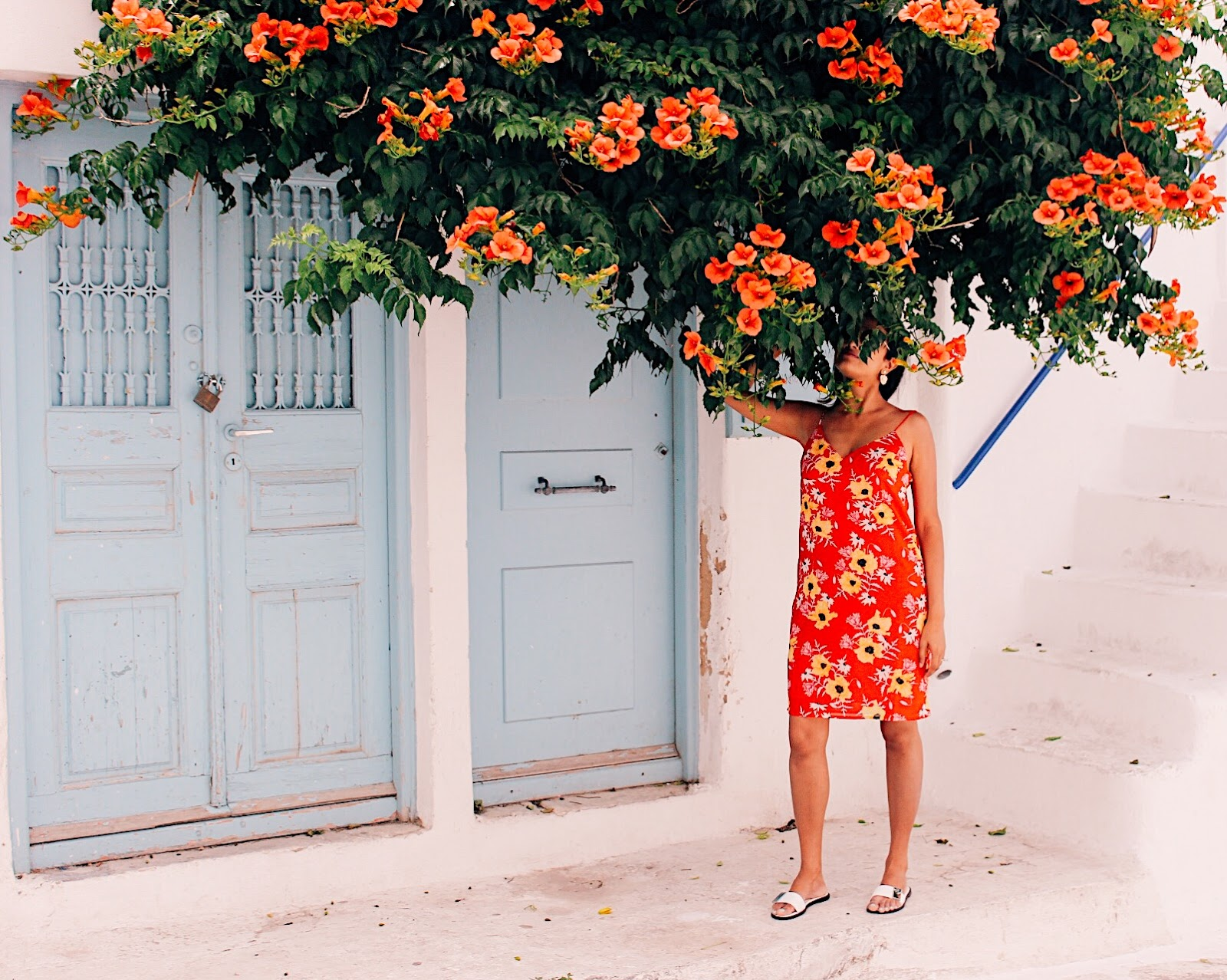 floral styling for 2019, summer style tips, jd williams dresses, spring summer 2019 floral, indian blogger, london blogger, uk blog, bougainvillea, red floral dress