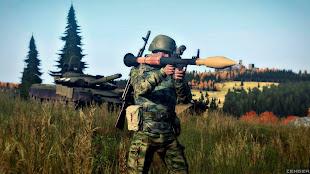 arma3 rhs: escalation modのロシア連邦軍兵士