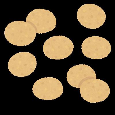豆菓子のイラスト(一種類)